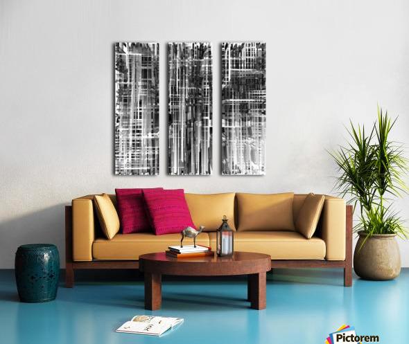 Construction Split Canvas print