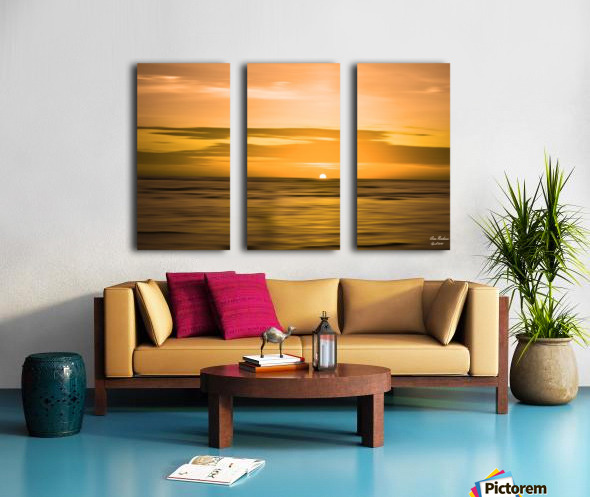Time to rest Split Canvas print