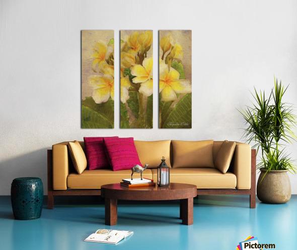 Floridian Bouquet Split Canvas print