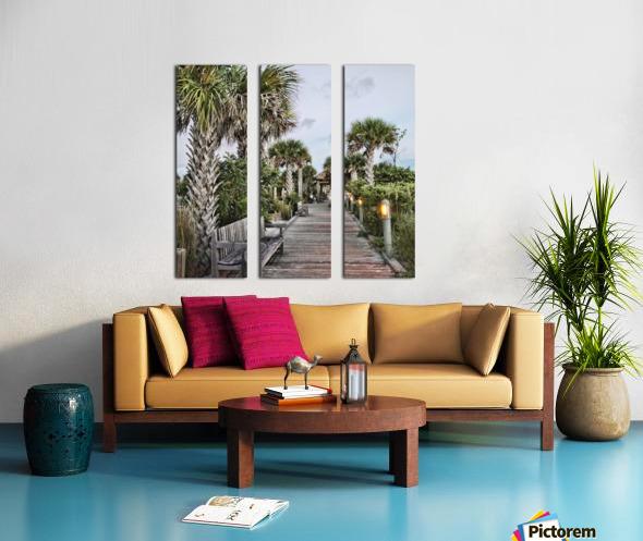 Sit N Relax Split Canvas print