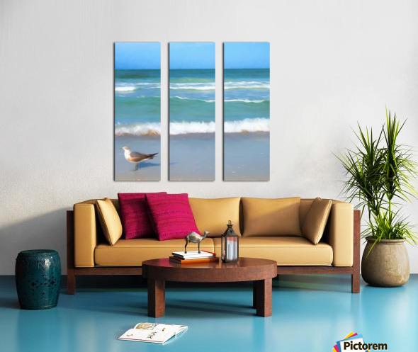 Surfs Up Split Canvas print