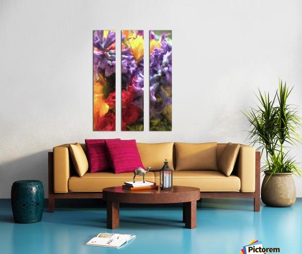 Living Color Split Canvas print