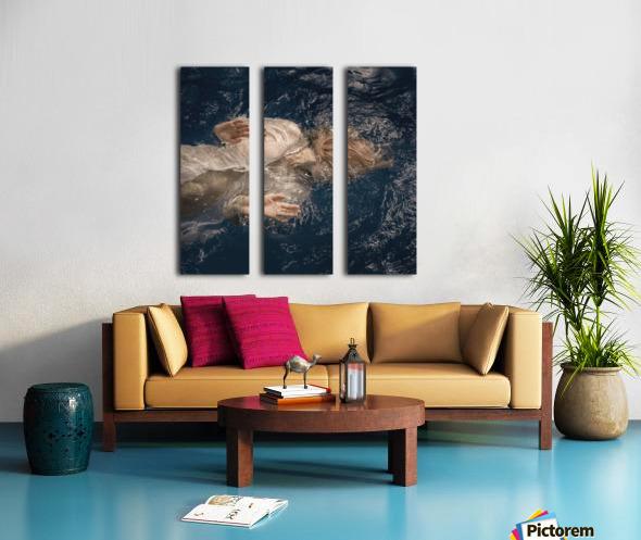 Water fairy Split Canvas print