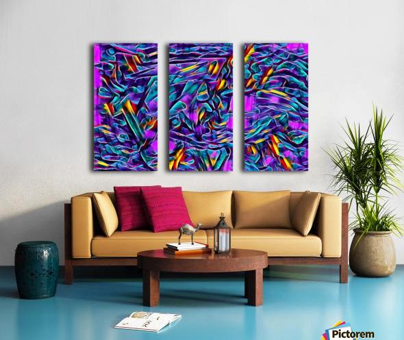 dorzen Split Canvas print