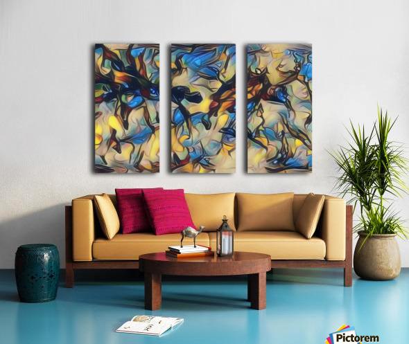 gubug Split Canvas print