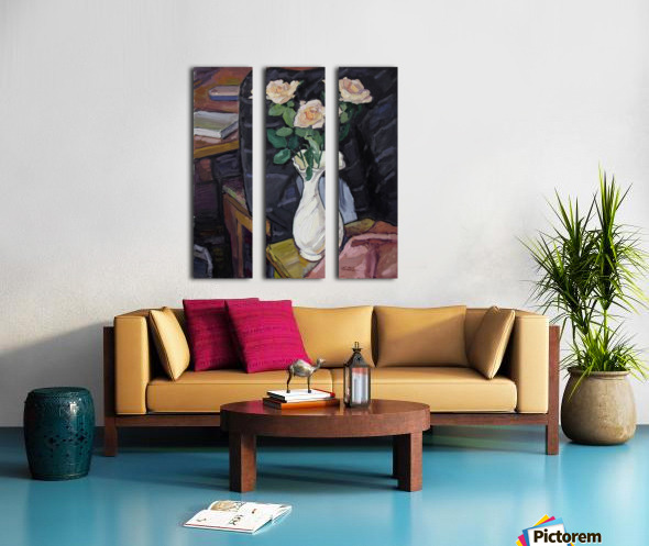 Three Roses Split Canvas print