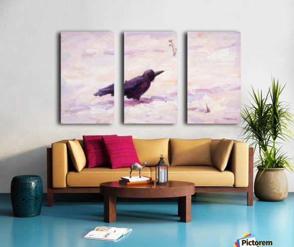 It is Cold Split Canvas print