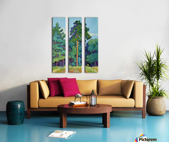 Edge of the Forest Split Canvas print