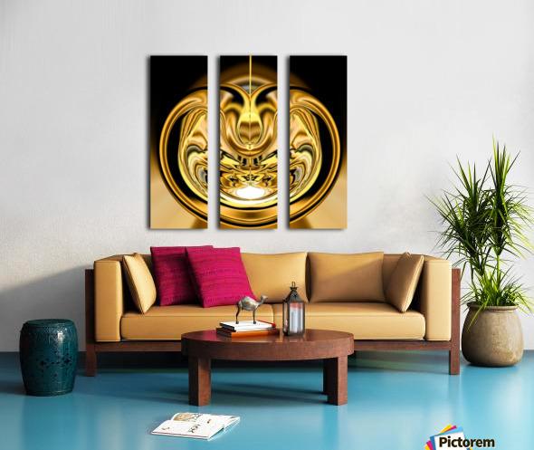 GoldTone2 Split Canvas print