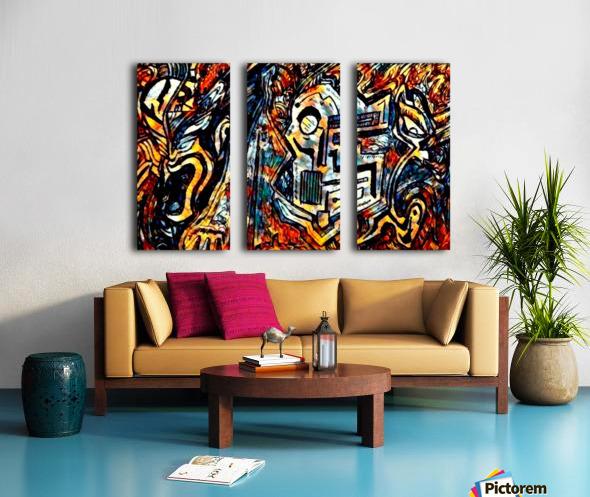 jokafazer Split Canvas print