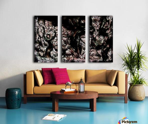 nowerind Split Canvas print