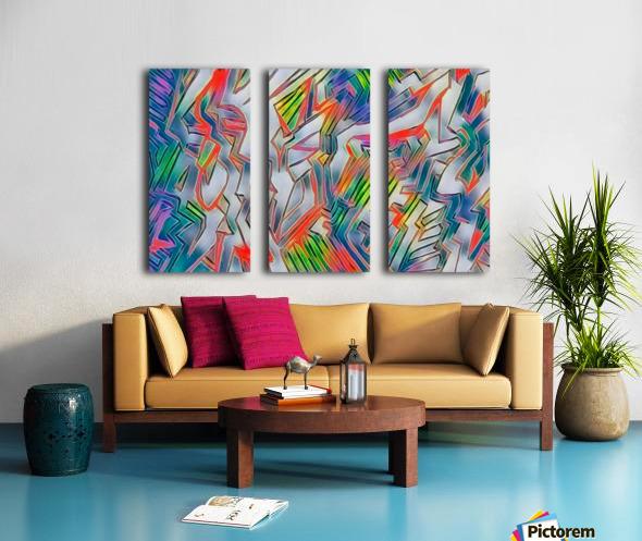 nyrneon Split Canvas print
