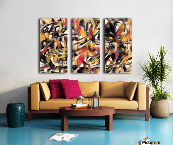 orvelle Split Canvas print