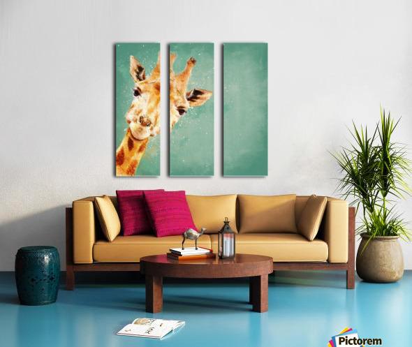 Girafeau Split Canvas print