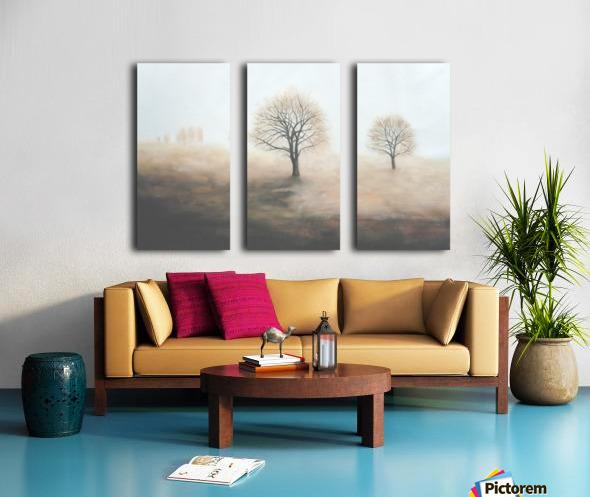 Foggy Split Canvas print