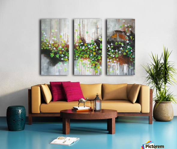 Rift Split Canvas print