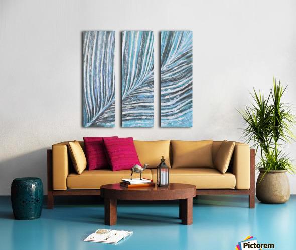 nervure Split Canvas print