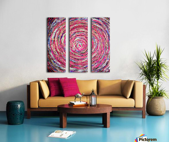 Circles Split Canvas print