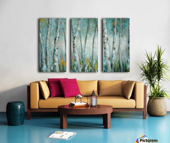 Forrest Split Canvas print