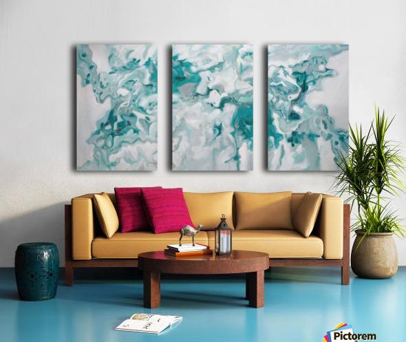 Arctic Split Canvas print
