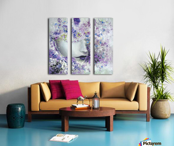 femme Split Canvas print
