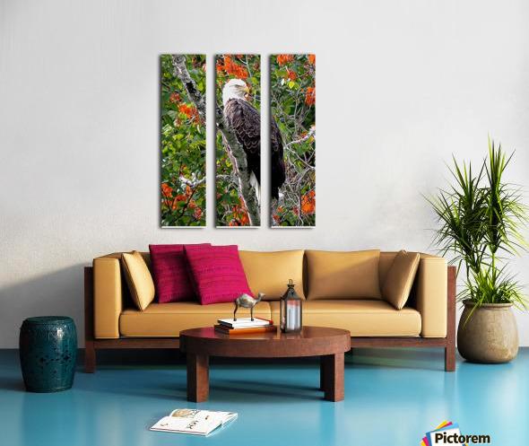 AutumnEagle Split Canvas print