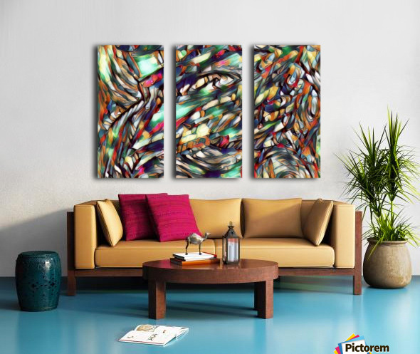ripico Split Canvas print