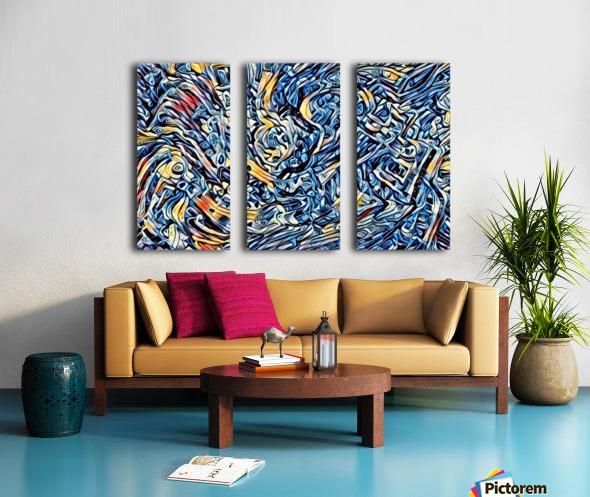 sertentain  Split Canvas print