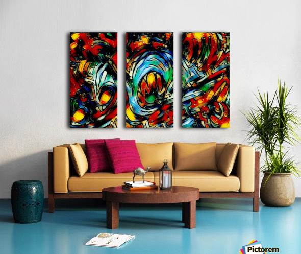 tocirondo Split Canvas print