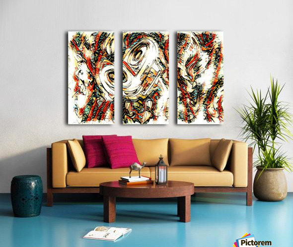 vafle Split Canvas print