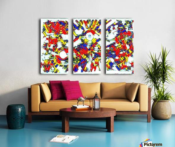 yobyr Split Canvas print