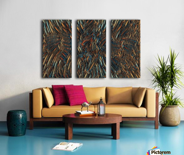bezurro Split Canvas print