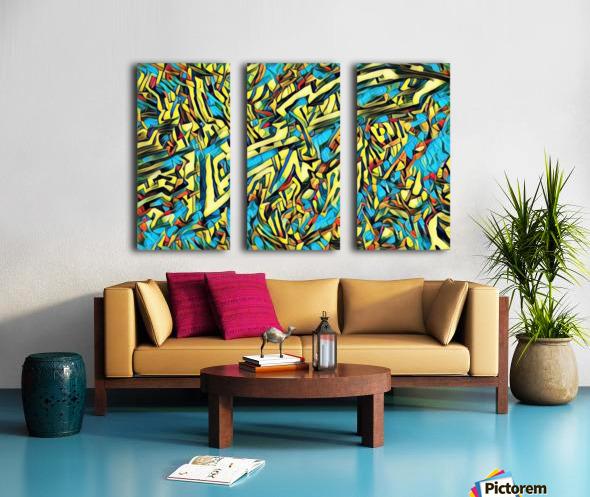camofep Split Canvas print