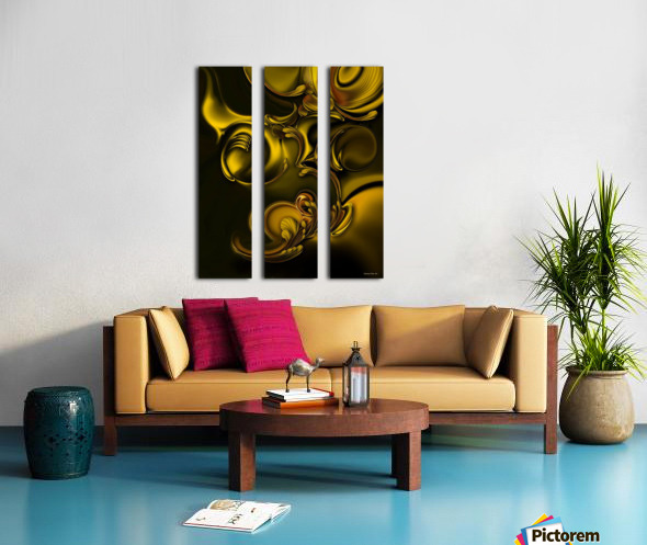 Abstraction With Meditation Split Canvas print