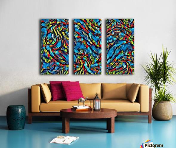 brarm Split Canvas print