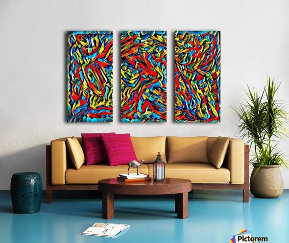 buzqke  Split Canvas print