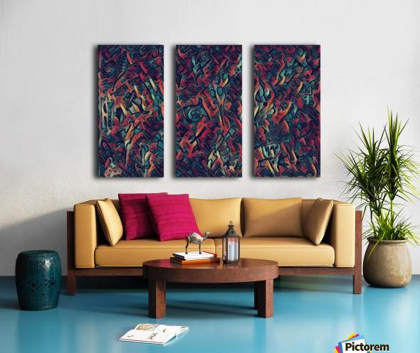 munekito Split Canvas print