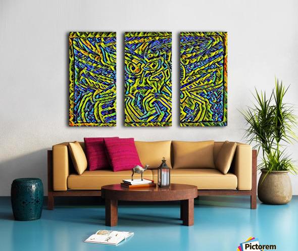yilu  Split Canvas print