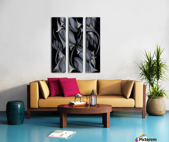 Indestructible Transformation Of Life Split Canvas print