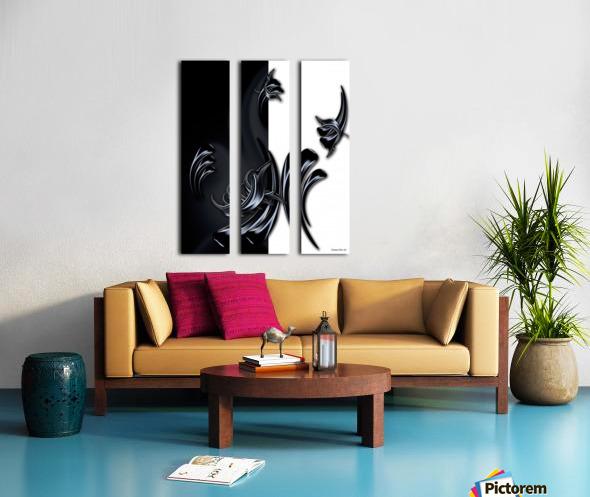 My Rising Projection Split Canvas print