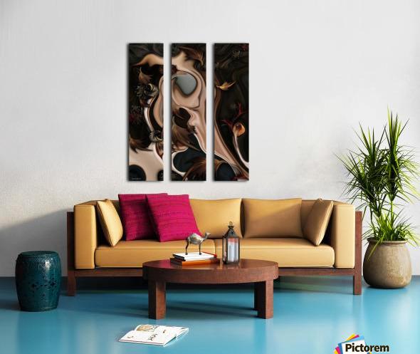 Autumnal Material Split Canvas print