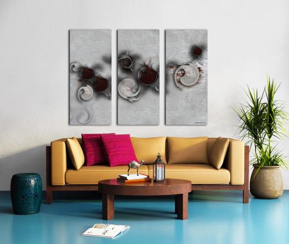 The Meditative Emotion Split Canvas print