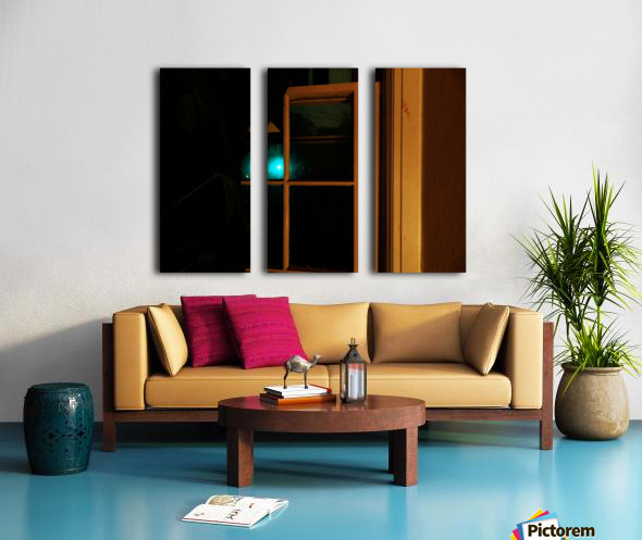 B (5) Split Canvas print
