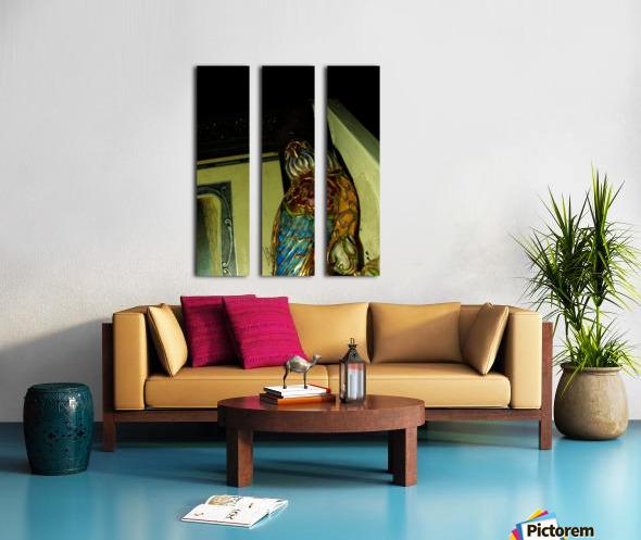 D (4) Split Canvas print