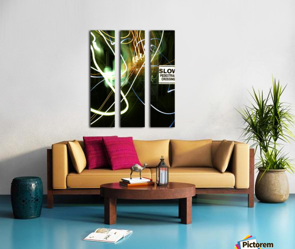 E (15) Split Canvas print