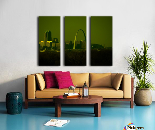 F (5) Split Canvas print