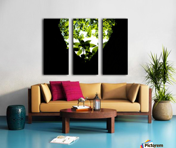 F (4) Split Canvas print