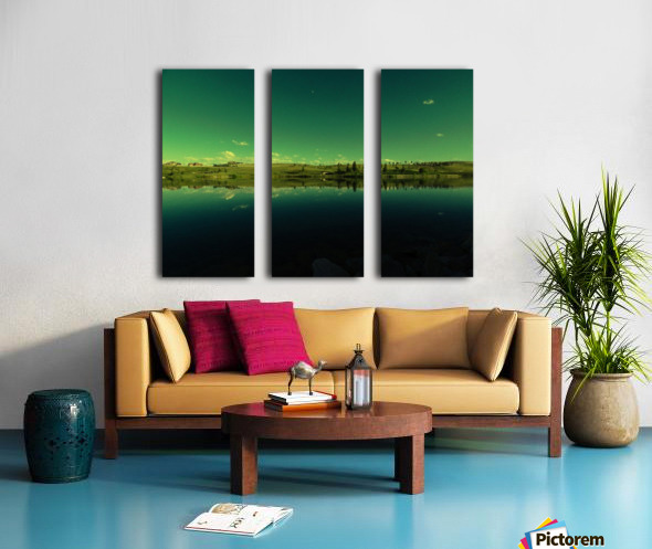 G (8) Split Canvas print