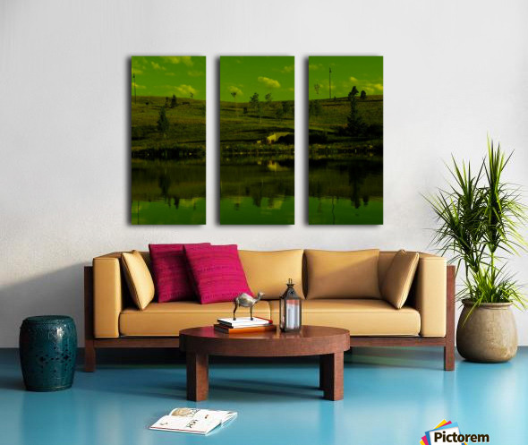 H (9) Split Canvas print
