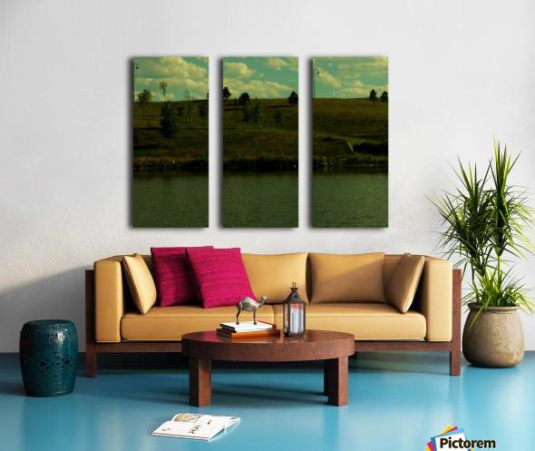 H (5) Split Canvas print